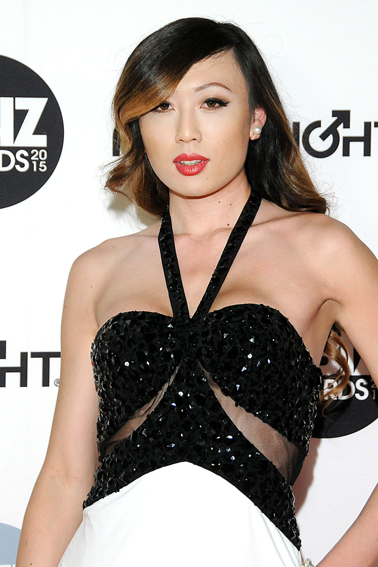 The 2015 XBIZ Awards Show at the JW Marriott Hotel in Downtown Los Angeles on January 15. 2015