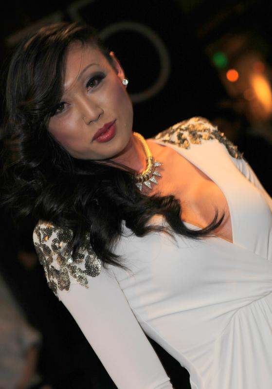 Venus Lux at the 2013 AVN Awards at the Hard Rock Hotel & Casino in Las Vega