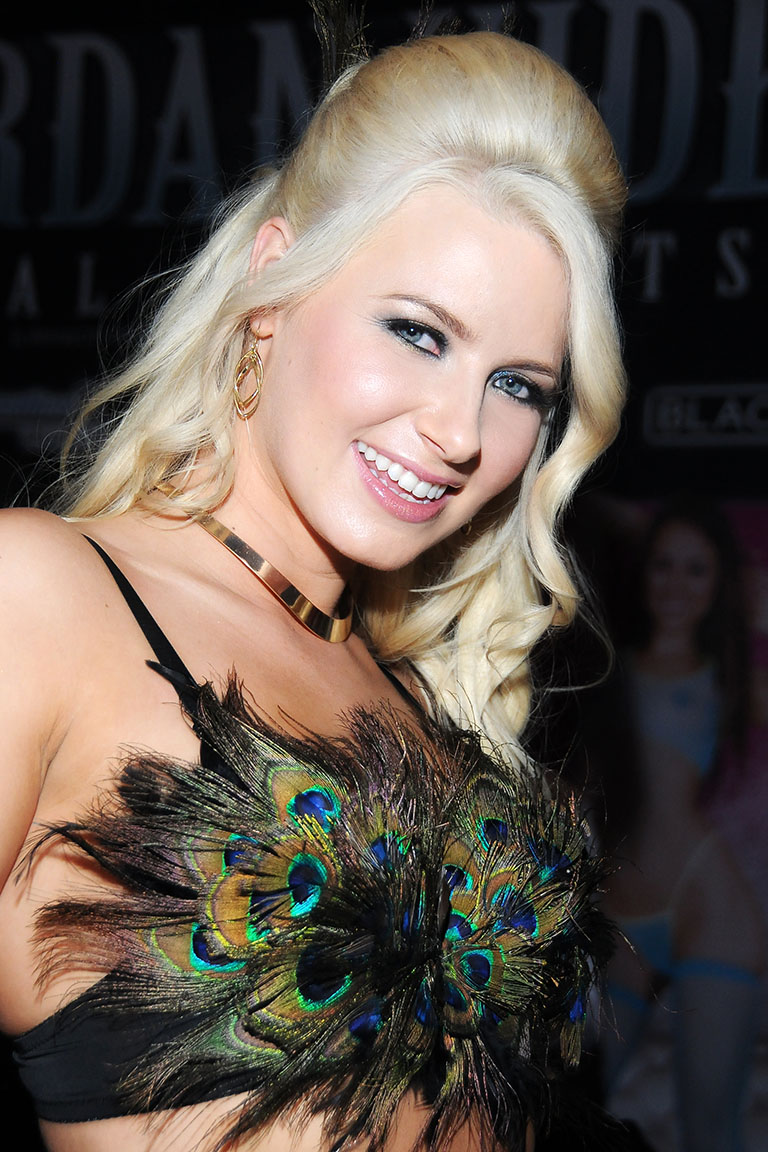 AVN Adult Entertainment Expo at the Hard Rock Hotel in Las Vegas Nevada on January 21, 2015