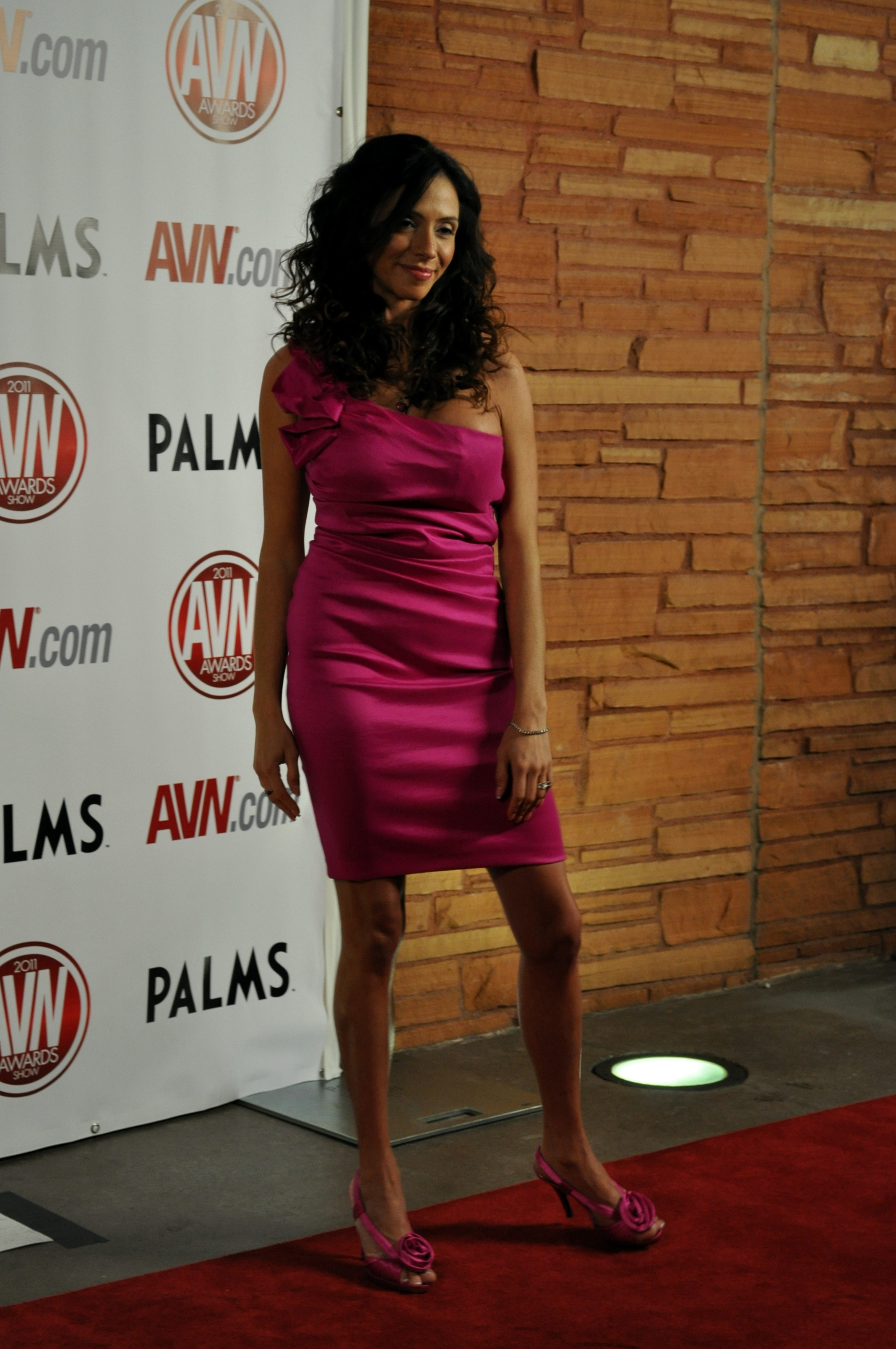Ariella Ferrera at the AVN 2011