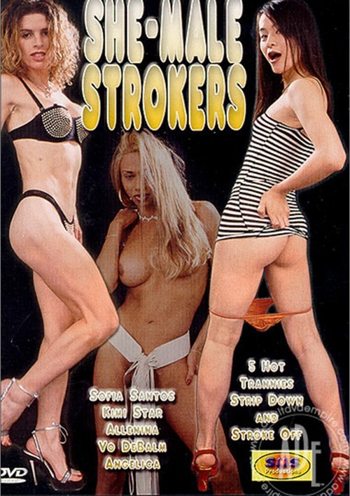 Shemale Strokers DVD cover