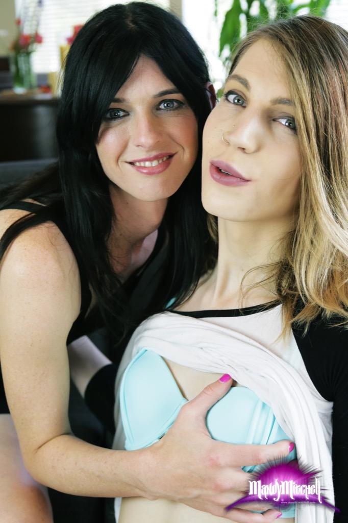 Freya Wynn and Mandy Mitchell