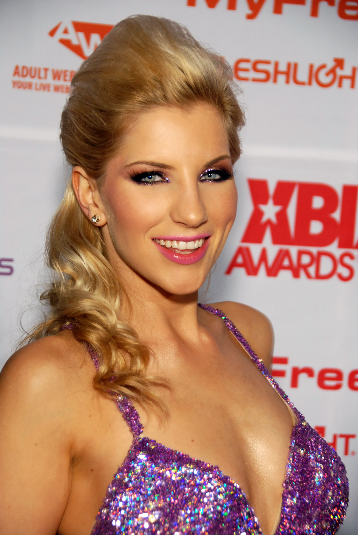 XBIZ Awards Red-Carpet Arrivals at the Hollywood Palladium, Hollywood, CA on February 9, 2011