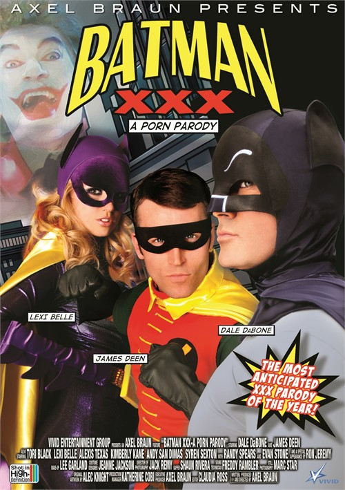 Batman XXX DVD