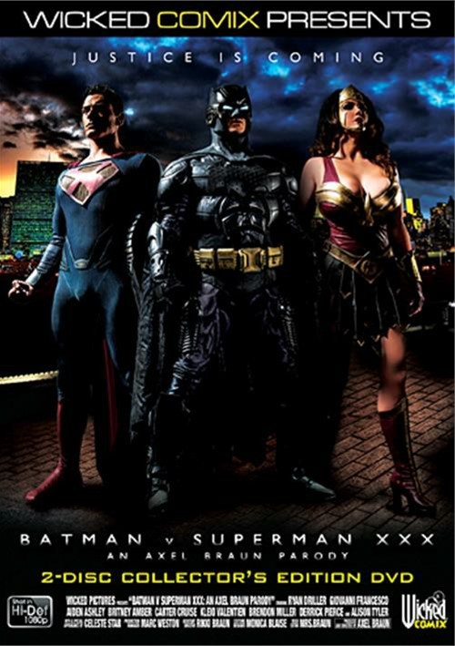Batman vs Superman XXX DVD