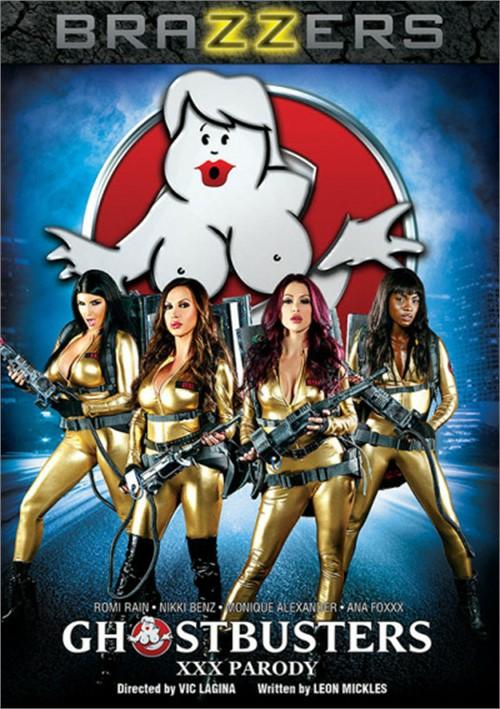 Ghostbusters XXX DVD