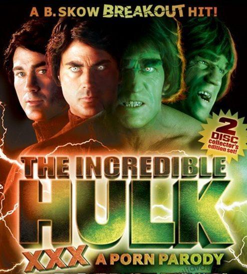 Incredible Hulk XXX DVD