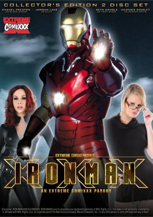 Iron Man XXX DVD
