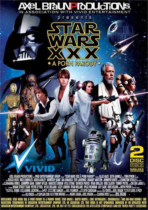 Star Wars XXX DVD cover