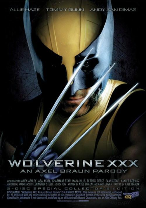 Wolverine XXX DVD