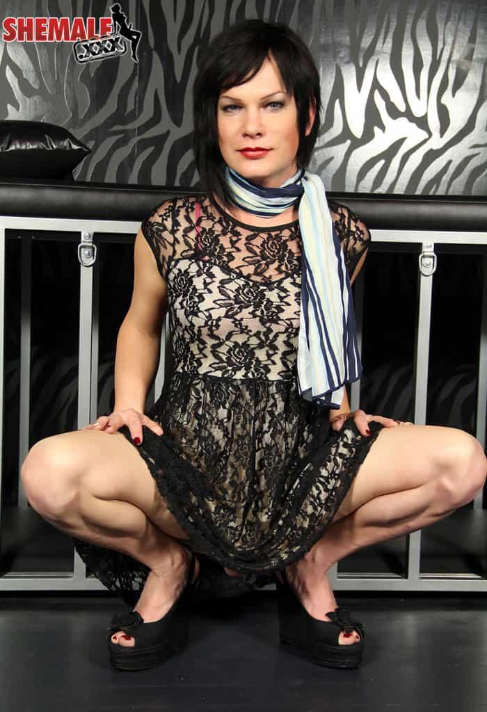TS Gina Hart at Shemale XXX