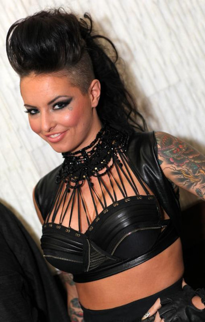 Christy Mack at the 2013 AVN Awards