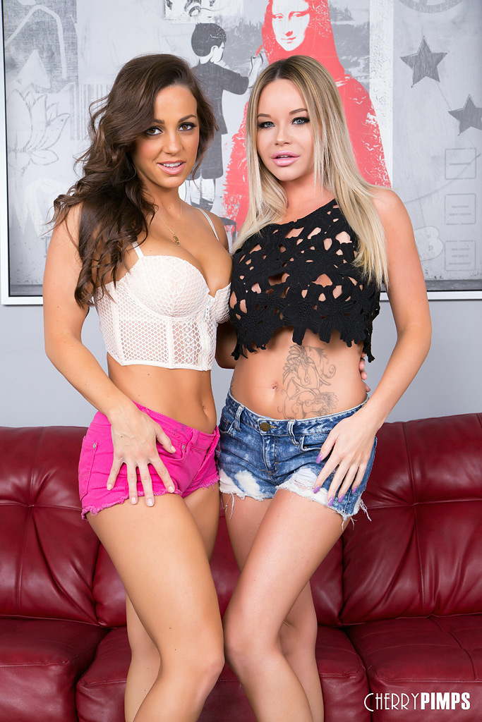 Rachele Richey and Abigail Mac at Cherry Pimps