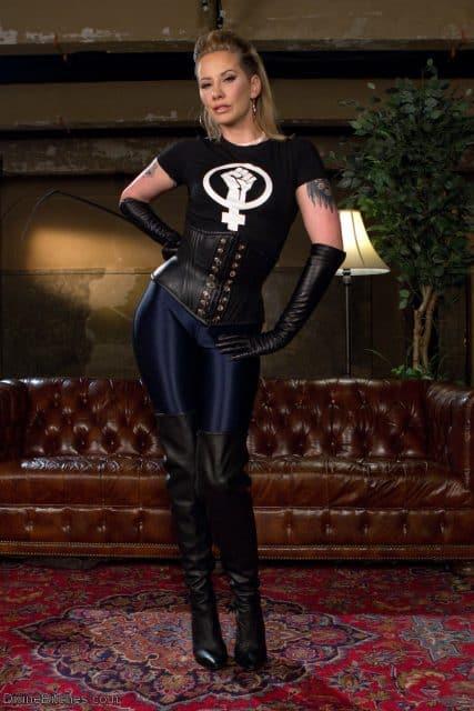 Top Femdom Pornstars AdultWebcamSites - Sexy femdom porn star Maitresse Madeline Marlowe porn pics sfw