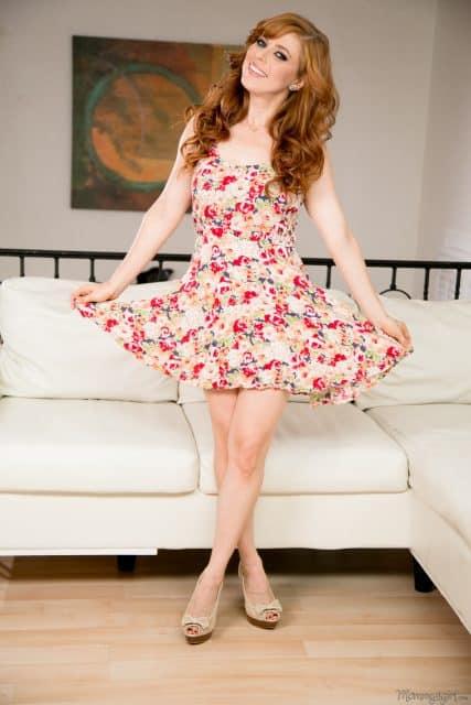 Top Redhead Pornstars AdultWebcamSites - redhead porn star Penny Pax pics