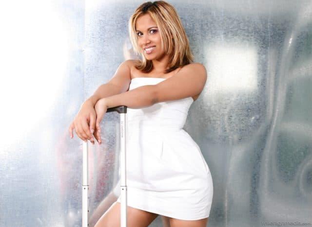 Top Indian pornstars AdultWebcamSites - Indian porn star Gaya Patal pics - Gaya Patel in sexy white dress sfw pics - Mile High Media Gaya Patal porn pics