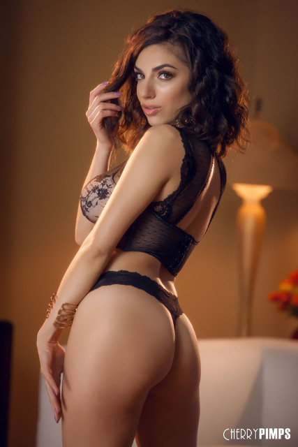 Big natural tits pornstars AdultWebcamSites - Big natural boobs Darcie Dolce in alluring black lace lingerie porn pics - Cherry Pimps Darcie Dolce scene pics