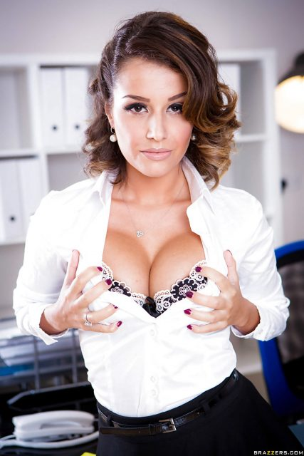 Top French pornstars XXXBios - French pornstar Cara St Germain pics - busty French pornstars pics