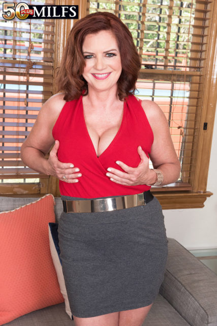 Andi James AdultWebcamSites - Andi James big boobs MILF pornstar in work outfit - Andi James sfw porn pics - Hot MILF Andi James strips for you sfw pics