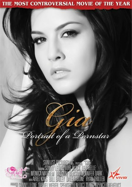 Gia Portrait Of A Porn Star DVD box cover