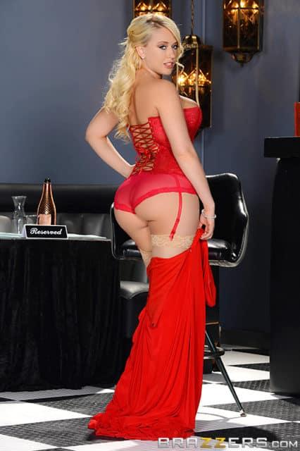 Top Blonde Pornstars AdultWebcamSites - Blonde pornstar Kagney Linn Karter pics - Kagney Linn Karter in sexy red corset