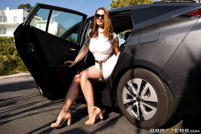 Siri AdultWebcamSites - Hot all natural busty pornstar Siri shows off her natural 32DDD big tits in a sexy white dress and nude high heels that show off her cute toes, feet and sexy long legs - Someone Called Siri Brazzers Siri porn pics sfw
