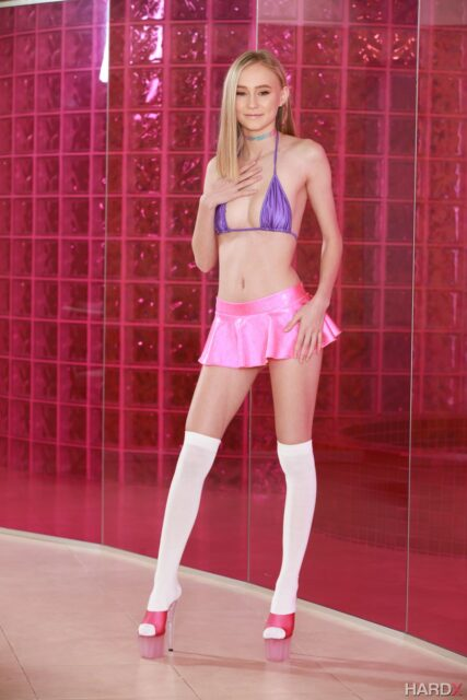 Alicia Williams AdultWebcamSites - Hot petite 5'2 all natural blonde teen pornstar Alicia Williams in sexy sparkly purple bikini top, hot neon pink mini skirt, white knee high socks stockings and pink peeptoe platform high heels - Small Town Anal Girl HardX X Empire Alicia Williams porn pics sfw - Alicia Williams anal sex porn scenes pics sfw