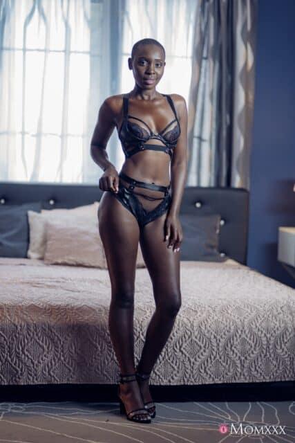 Zaawaadi XXXBios - Hot all natural Kenyan black pornstar Zaawaadi shows off her natural tits and big ass bubble butt booty in sexy black lacy lingerie and black high heels - Mom XXX SexyHub Zaawaadi porn pics sfw