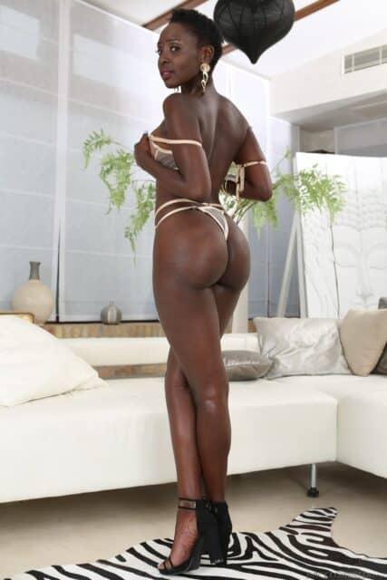 Zaawaadi XXXBios - Hot all natural Kenyan black pornstar Zaawaadi shows off her natural tits and big ass bubble butt booty in sexy green dress, choker and high heels with lacy lingerie - My Name Is Zaawaadi Rocco Siffredi Films Evil Angel Zaawaadi porn pics sfw