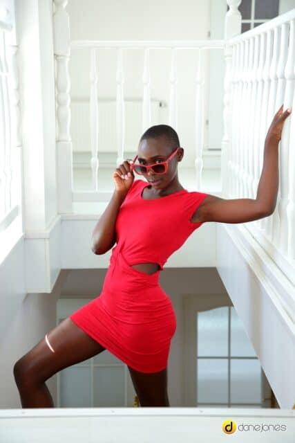 Zaawaadi XXXBios - Hot all natural Kenyan black pornstar Zaawaadi shows off her natural tits and big ass bubble butt booty in sexy red dress and red sunglasses - Dane Jones Sexy Hub Zaawaadi porn pics sfw