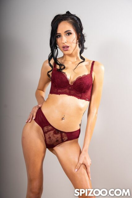 Alyssa Bounty XXXBios - Hot all natural petite Moldavian pornstar Alyssa Bounty in sexy red lacy lingerie - Spizoo Alyssa Bounty porn pics sfw